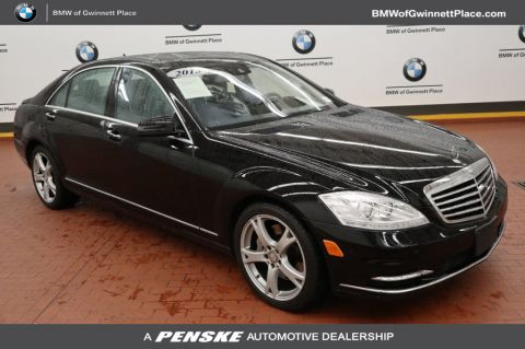 Pre-Owned 2013 Mercedes-Benz S-Class 4dr Sedan S 550 4MATIC®
